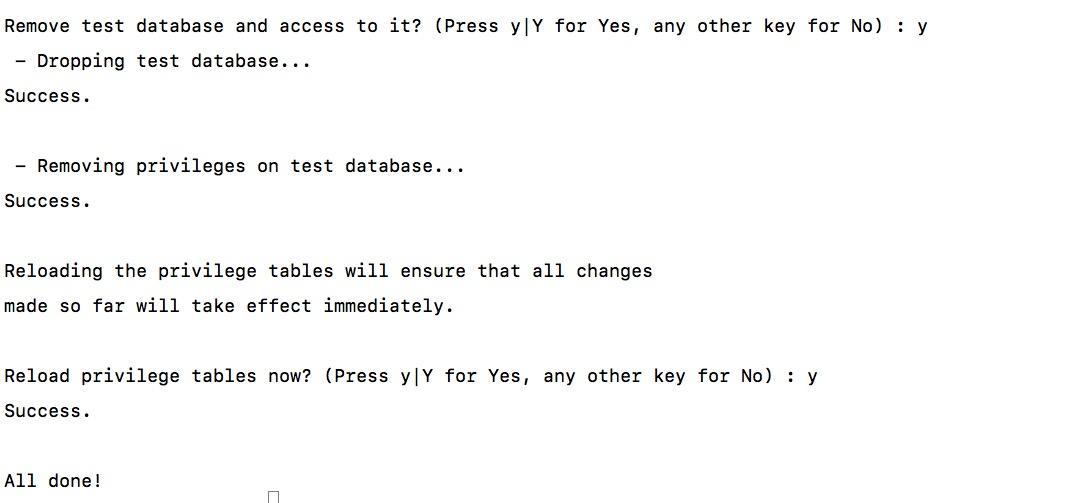 编程原力,Mysql5.7完成安全性设置